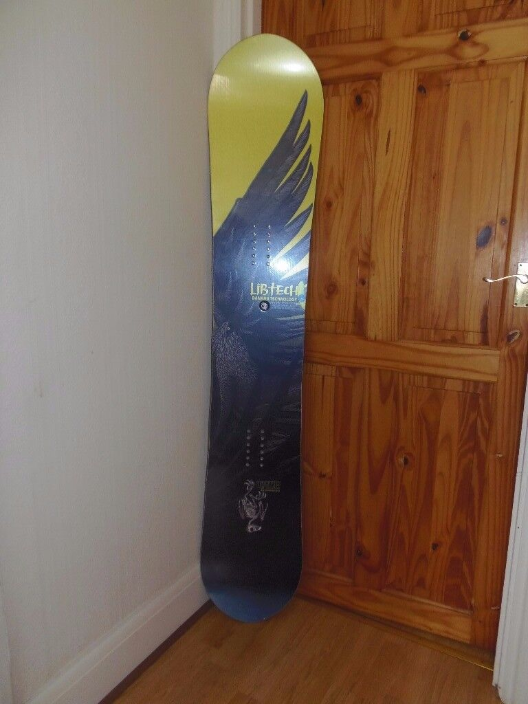 "LIB TECH T. RICE ""BIRD OF PREY"" SNOWBOARD ""ONLY 4 HOURS USE"""