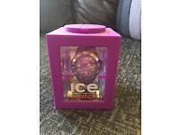 Genuine Ice watch VGC Ladies Purple