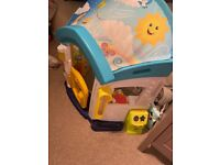 Fisher price laugh and learn house baby toy 0-3 year olds