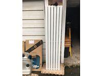 1780 x 420mm White Double Flat Panel Vertical Radiator