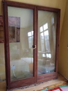 BAUHAUS WOOD EXTERIOR DOOR