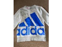 Boys Adidas jumper