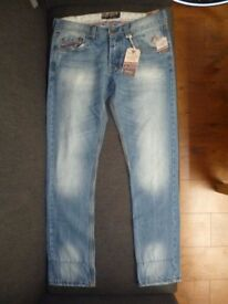 MENS SLIM JEANS-new with tags-ALCOTT
