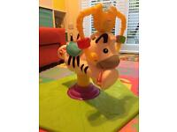 Fisher Price Bounce & Spin Zebra - great Christmas present!