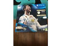 PS4 500GB Slim Black with FIFA 18