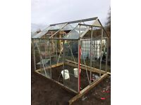 aluminium framed greenhouse