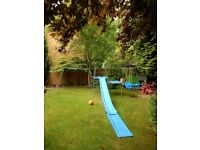 Large TP climbing frame with slide and swing for toddler