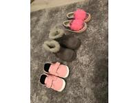 Baby girls size 3 shoes