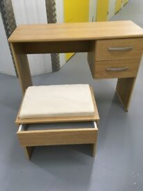 REDUCED for quick sale: Matching Desk/stool/chest of drawers - excellent condition