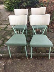 GENUINE VINTAGE RETRO CHAIRS FREE DELIVERY SET 🇬🇧ENGLISH CHAIRS