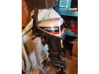 15hp Evinrude Outboard Engine