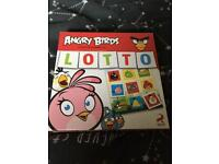 Angry birds lotto game