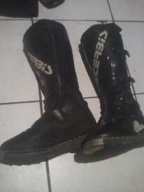 acerbis motocross boots size 6