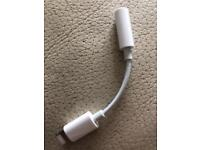 IPHONE HEADPHONE TO LIGHTNING JACK