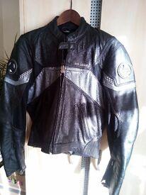 Bike leather jacket size 48