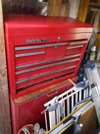 Stack on halfords tool box