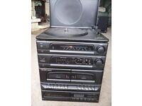 Midi stereo system