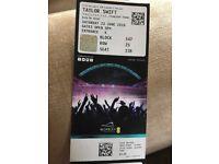 3 Taylor Swift Reputation tour tickets 23/6