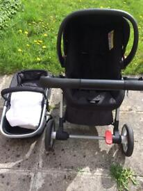 Mothercare Roam 4 Wheel Base 3 Piece Travel System