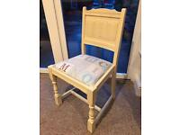 Shabby chic nursery/child's room chair
