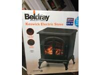 Brand new beldray Keswick electric stove fire heater