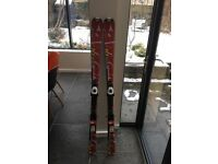 Atomic Race 10 Racing Skis, 150's, with Leki Race Poles, good condition