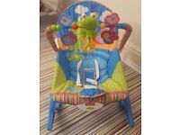 Fisher Price baby seat rocker Free delivery in Mansfield, Shirebrook, Langwith