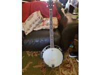 5 String Banjo nearly new hardly used