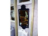 Black antique mirror