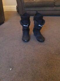 Puma motorcycle boots, bike boots