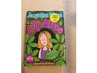 Lily Alone by Jacqueline Wilson (Hardback, 2011) (£3 + £2 POSTAGE)