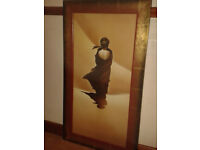Two Quality framed SHUIROKKO 1 and 2 prints. Framed by Artko ltd.