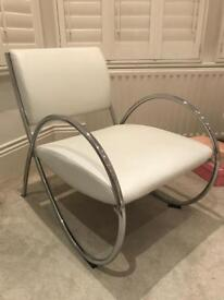 Chair metal / faux leather