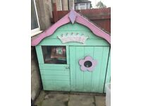 Free wooden playhouse, needs new roof. Must collect ASAP