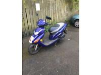 2003 Honda SFX 50cc Scooter 2 Stroke full mot, moped, automatic, twist and go