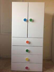 Ikea Children's wardrobe with 4 drawers