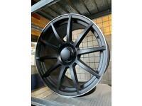 "19"" alloy wheels alloys rims tyres fits Vw Volkswagen seat Skoda Audi Mercedes c e s class Amg"