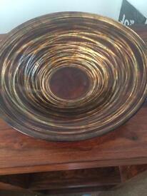 Bronze/gold/copper bowl