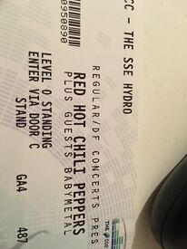 Red Hot Chilli Peppers 8th of December the hydro