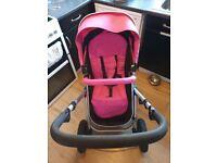 Baby pram and car seat