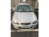 Rover 25 1.4 litre unleaded 5 door car