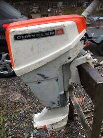 Outboard motor Chrysler 6hp short shaft
