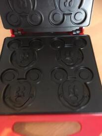 Disney Mickey Mouse waffle maker toastie maker