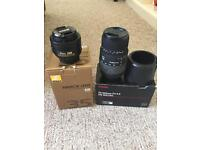 2x Nikon Fit DSLR Lenses 70-300mm telephoto and 35mm prime lens will sell seperately
