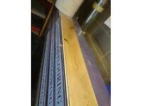 Oak flooring Real Wood Brand new 5.5sq metres plus underlay
