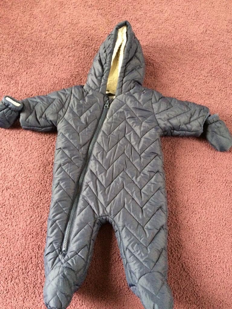 0-3 months next snow suit