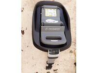 Isofix base. General wear and tear. 50 pounds