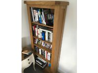 Beautiful Solid Oak bookcase with storage drawer from Nancy Smillie shop