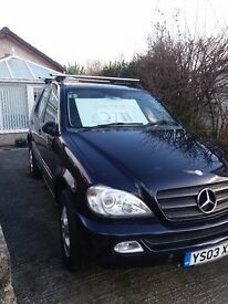 Mercedes ML270 CDI,tiptronic semi-auto,7 SEATER,LOW MILES,PERFECT TOWING CAR,TWIN ELEC,REAR CAMARA!