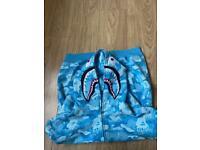 Bape shark hoodie size XL